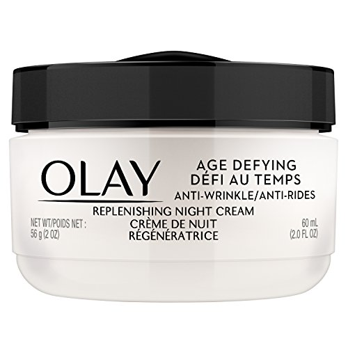 OLAY Age Defying Anti-Wrinkle Replenishing Night - Anti Aging Cream Anti Wrinkle Night