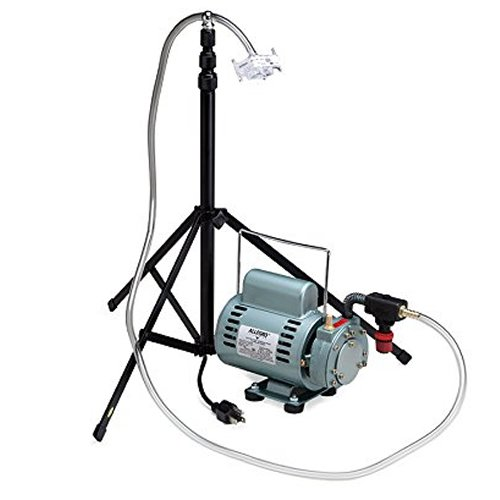 Allegro Industries 9801 T-100 Jarless Sampling Rotary Vane Pump with Stand