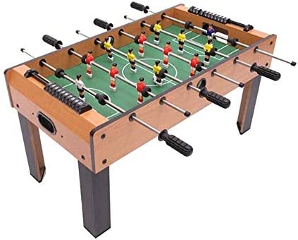 "LKNJLL 31"" フーズボールテーブル、大型高足フーズボールマシン、ミニ木製テーブルサッカー表"