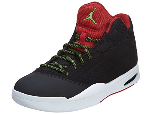 JORDAN AIR JORDAN NEW SCHOOL-Ballon de Basketball Baskets mi-haut-Noir - 44,5