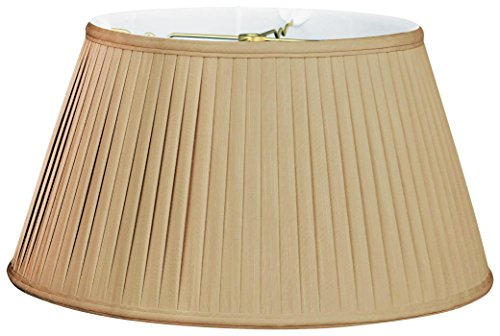 Royal Designs Royal Designs 6Way Out Scallop Bell Basic Lamp Shade, Antique Gold, 9.5 x 15 x 8