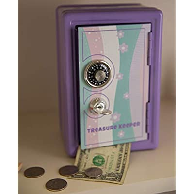 Fat Brain Toys My Treasure Keeper Safe & Bank Playroom and Bedroom Furnishings for Ages 5 to 10: Toys & Games