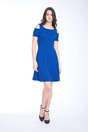 Blue Aline Dress