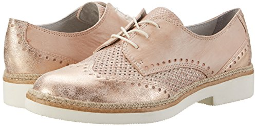 596 Brogue 23718 Comb Pink Tamaris Women''s rose YAxqAvR