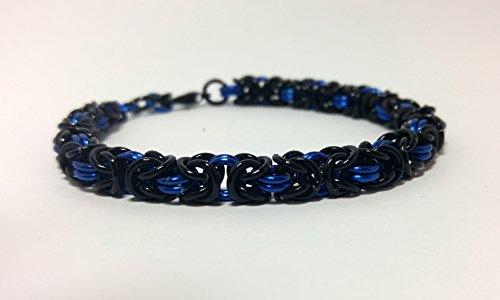 Chainmaille bracelet, chainmail bracelet, mens bracelet, byzantine bracelet