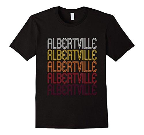 Men's Albertville, MN | Vintage Style Minnesota T-shirt Small - Albertville Mn