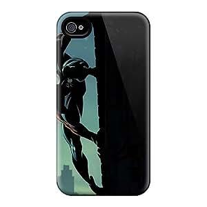 Unique Design Iphone 4/4s Durable Tpu Case Cover Amazing Spiderman