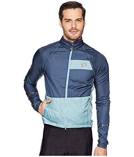 [PEARL IZUMI(パールイズミ)] メンズウェアジャケット等 Elite Barrier Convertible Cycling Jacket Midnight Navy/Arctic US 2XL (2XL) [並行輸入品]   B07NVB4WLT