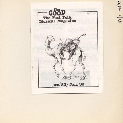 CooP - Fast Folk Musical Magazine (Vol. 1, No. 11)