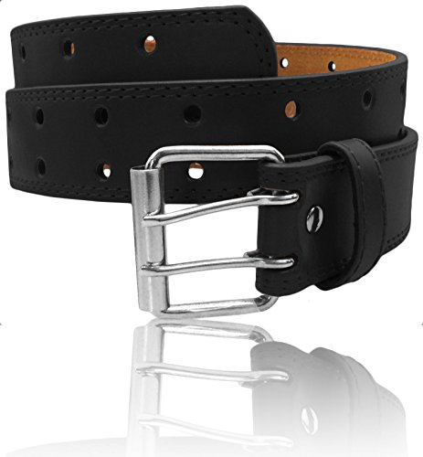 LUNA Womens Thick Wide Leather