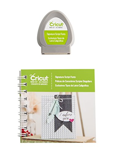 Provo Craft Cricut Font Cartridge-Signature Script -