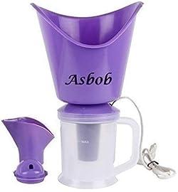 Asbob Vaporizer with 3 Attachments Facial Sauna Steamer, Nose Steamer , Cough Steamer , Nozzle Inhaler , Nose Vaporiser (Blue) at amazon