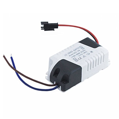 5W LED Driver AC 120V/240V to DC 12V Transformer Power Adapter Home Converter 4W