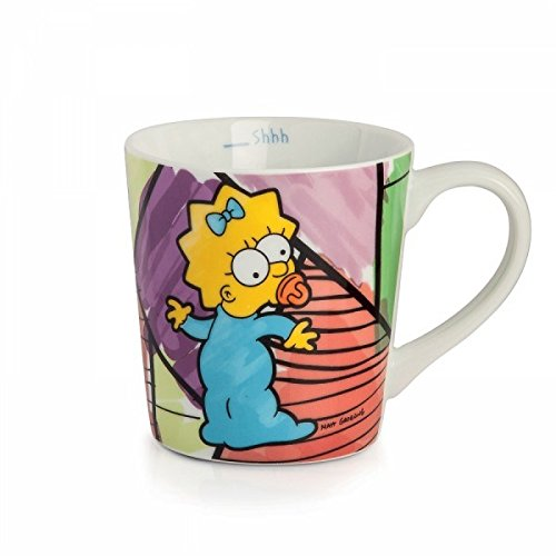 Taza de Maggie Simpson, Porcelana https://amzn.to/2BE8Blz