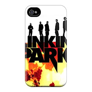 Shock Absorption Cell-phone Hard Covers For Iphone 6plus (CyM15532womK) Support Personal Customs Lifelike Linkin Park Image