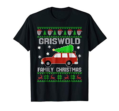 Griswold's Family Merry Christmas T-Shirt Gift For Xmas