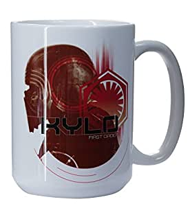 Star Wars The Last Jedi Collectible Mugs (Kylo Ren First Order)