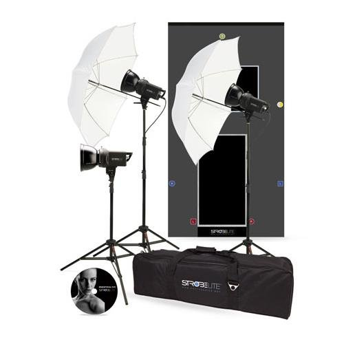 Photo Basics Strobelite - Photo Basics 241 Strobelite Three Light Kit