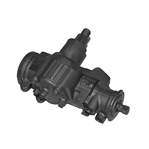 Detroit Axle - Complete Power Steering Gear Box Assembly - Lifetime Warranty - for Buick, Cadillac, Chevrolet, Isuzu, Jeep, Oldsmobile, Pontiac Vehicles (Steering Gearbox Assembly)