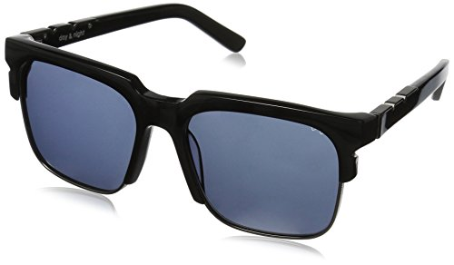 Pared Eyewear Day and Night Black with Gunmetal Rim Wire Grey Square Sunglasses, Solid Green Lenses, 21 - Wire Glasses Square Rim
