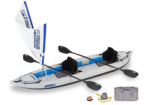 Sea Eagle 385FT FastTrack Inflatable Kayak - QuikSail Package
