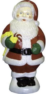 General Foam Plastics C5280TS Santa Candy Cane Figurine, 31-Inch