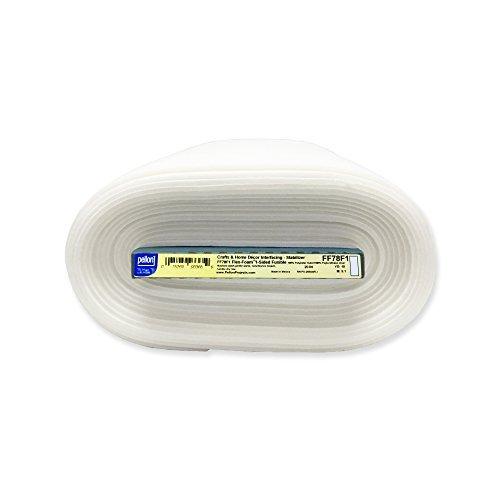 Pellon Flex-foam Fusible Stabilizer FF78F1 20'' X 10 Yards One-Sided by Pellon