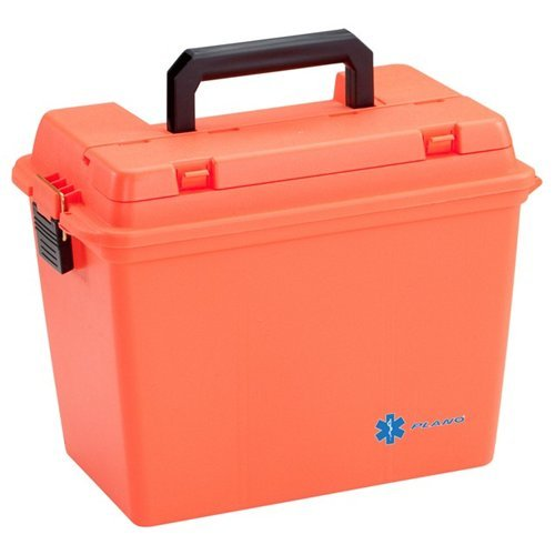 Plano Extra Large Field Box With O-Ring Seal Orange 181204 by Plano