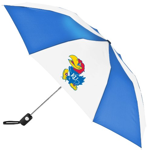 (NCAA Kansas Jayhawks Automatic Folding Umbrella)