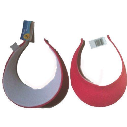 - Royal Headwear Terry Clip on Visor Fuchsia