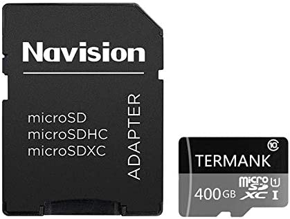 Tarjeta Micro SD de 128 GB/256 GB/400 GB, Tarjeta SDXC de Alta Velocidad Clase 10 con Adaptador SD Gratis 400GB