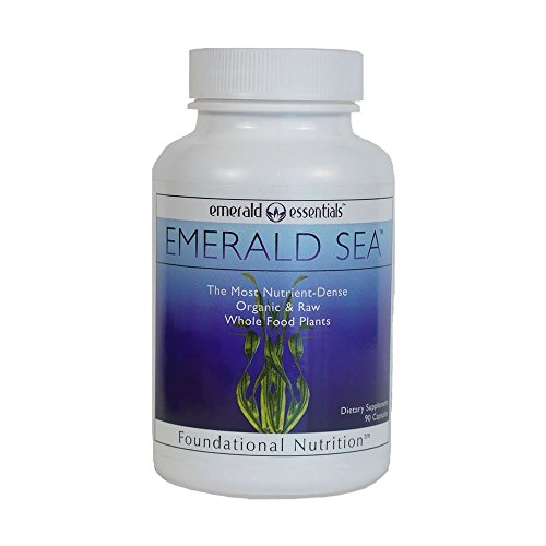 Emerald Sea Raw Organic Seaweed - (1 Bottle) by Emerald Essentials