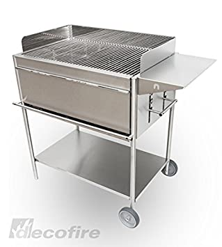 EDELstar Acero inoxidable Barbacoa - Barbacoa inoxidable ...