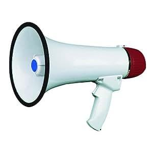 Melchioni Mp-15 - megáfonos Rojo, Color blanco: Amazon.es