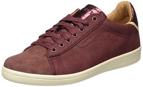 Red Mary Up Lace Bordeaux Zapatillas para Esprit Mujer 600 Rojo Cwqfpqznd