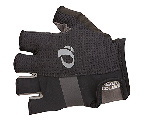 Pearl iZUMi Ride Men's ELITE Gel Gloves, Black, Medium