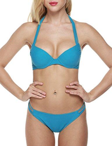 Push Up Underwire Bikini - 9