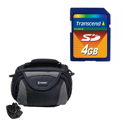 Panasonic HC-V750K Camcorder Accessory Kit includes: KSD4GB Memory Card, SDC-26 Case by Synergy Digital