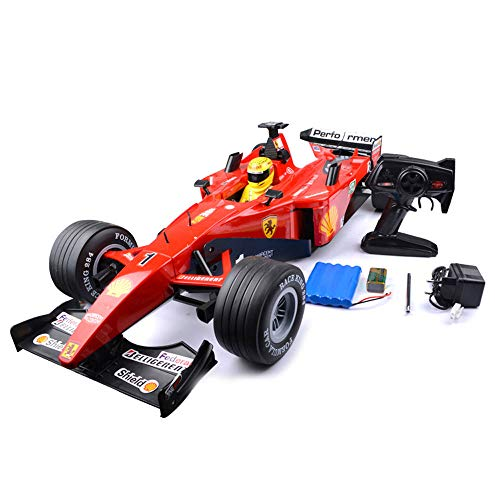 Mogicry F1 Formula Remote Control Racing Very Large 77cm 1:6 Simulation Sound Damping Large Capacity Charging Drift High Speed Electric Model Child Toy Rc Car for Kids 3+ (Size : 1 Battery) ()