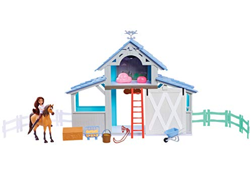 Spirit Riding-Free Barn Playset (Lamp Weathervane)
