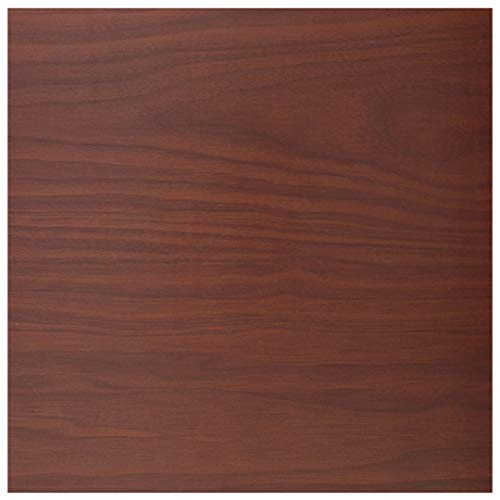 Wood Grain Contact Paper Film Countertops Vinyl Wallpaper Sticker Peel and Stick Self-Adhesive Wrap Authentic Red Sandalwood Look, Durable,Waterproof for Kitchen Home and Office (24''x 38.4'') by XidaQ