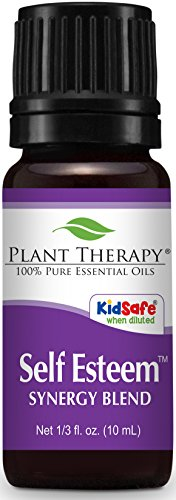 Plant Therapy Self Esteem Synergy Essential Oil 10 mL (1/3 oz) 100% Pure, Undiluted, Therapeutic Grade