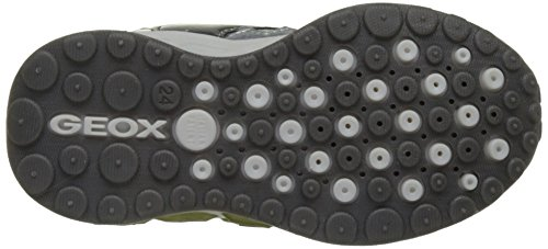 Geox J Shuttle B, Zapatillas para Niños Gris (Grey/limec0666)