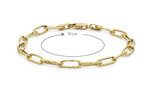 Carissima Gold - 1.28.1512 - Bracelet Femme - Or jaune (9 cts) 2.1 Gr