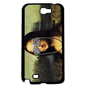 Cool Mona Lisa Hard Snap On Case (Galaxy Note 2 II)