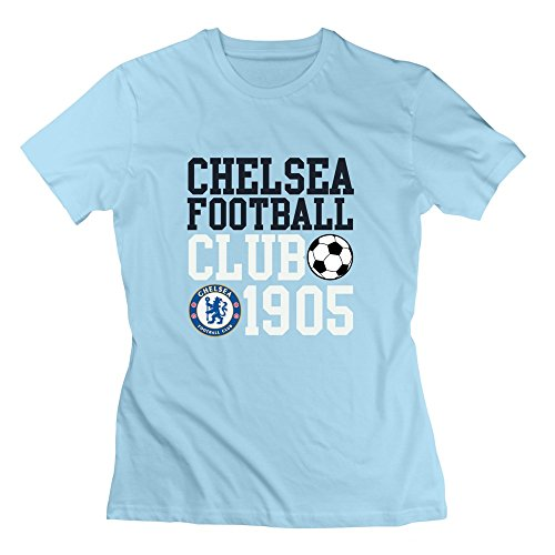 Seico Lady Chelsea Football Club Tshirts SkyBlue Size XXL