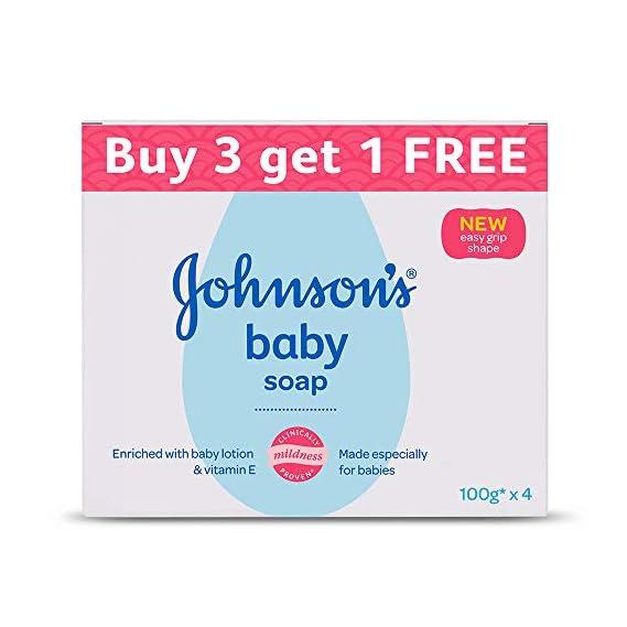 Johnson's Baby Soap 100g (Buy 3 Get 1 Free)