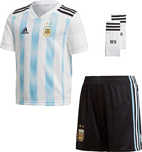 adidas Soccer Argentina Home Kids Unisex Mini Kit (3T)