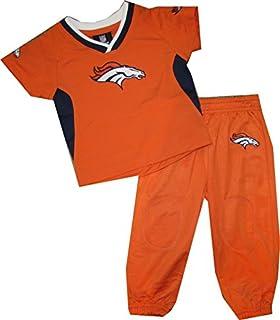 Infant Denver Broncos Orange Field Goal T-Shirt and Short Set
