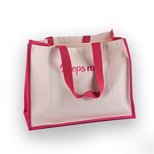 coton Me jute Carlin Shopper Rose vIqnpP41